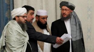 وفد من طالبان في ايران